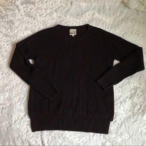 Wilfred Aritzia Small Maroon Wool Sweater